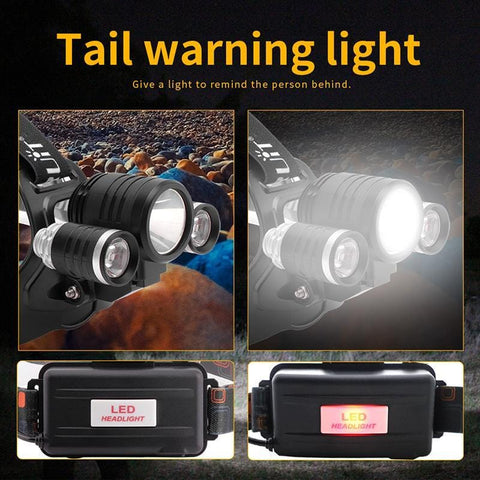 Image of 'Boruit 1155 Headlamp Tail Warning Light""