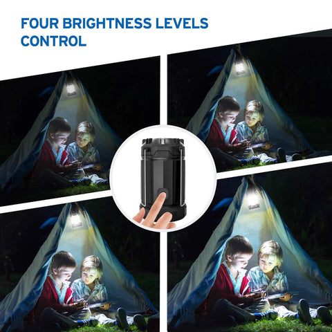 Image of Etekcity EverBright Portable LED Lantern Four Brightness Level Control