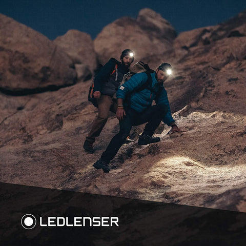 Image of LED Lenser MH2 LED Headlamp for Hiking