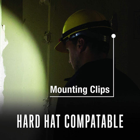 Coast FL70 Hard Hat Compatible Headlamp