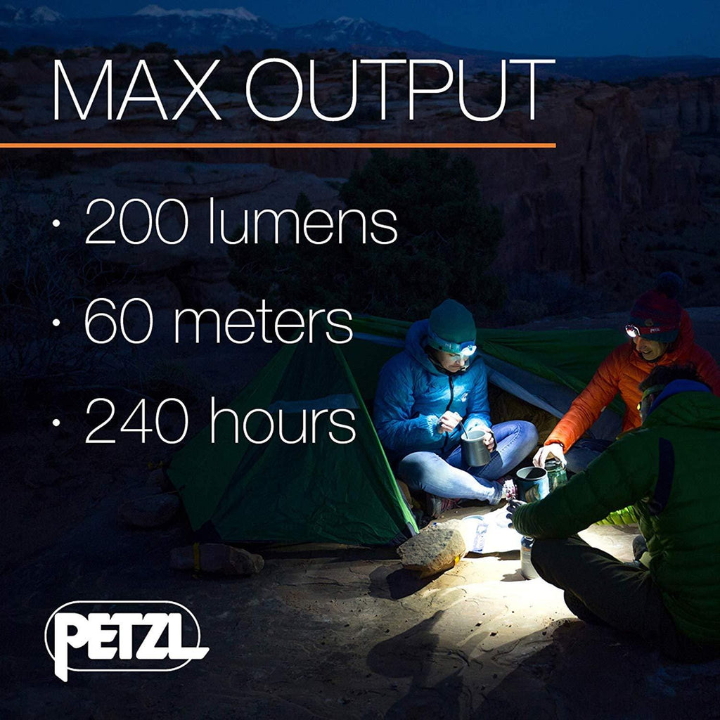PETZL TIKKA Tactical LED Headlamp Max Output