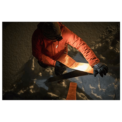 """Man at work with Black Diamond STORM Headlamp"""