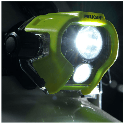 Pelican 2785 Yellow Headlamp Closer look