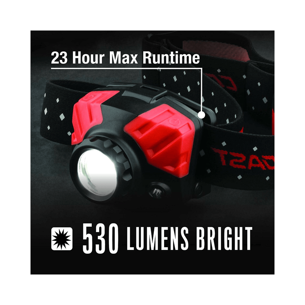 Coast FL75R Headlamp 530 Lumens