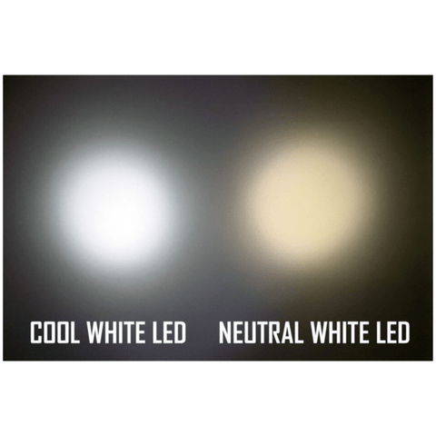 Nitecore HC30 Headlamp Cool White LED and Neutral White LED