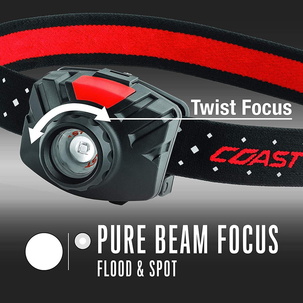 Coast FL70 Pure Beam Focus Headlamp