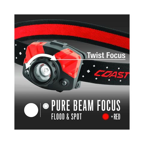 Image of Coast FL75R Pure Beam Focus Headlamp