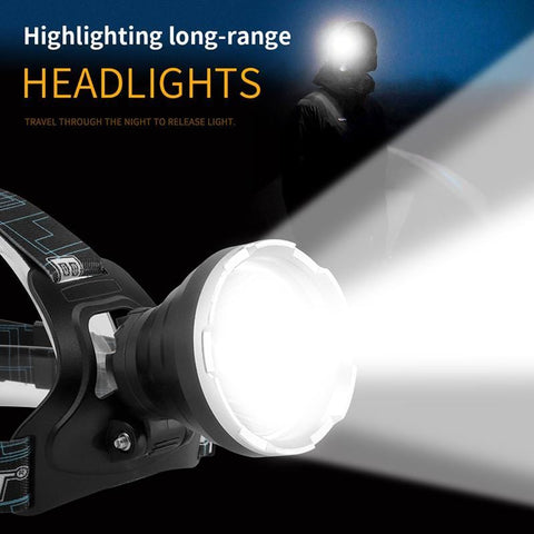 BORUIT B10 Long range headlights