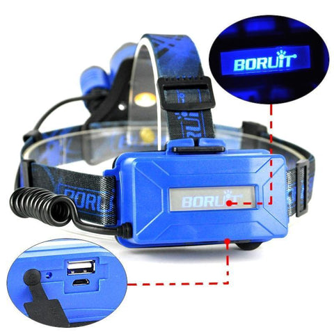 Blue Boruit B22 Battery Pack