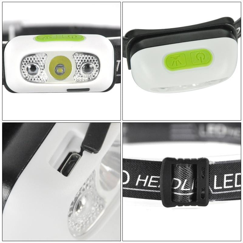 Boruit B6 Headlamp