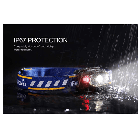 Image of Fenix HL15 Black Headlamp waterproof with IP67 Protection