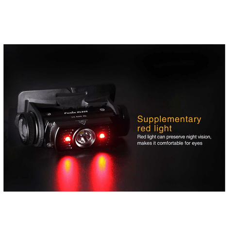 Image of Fenix HL60R Headlamp Supplementary Red Light