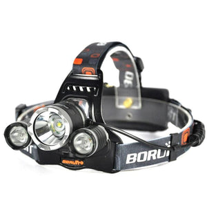 Boruit RJ3000 Rechargeable Red CREE LED Headlamp