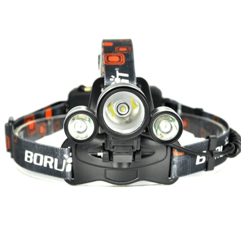 Image of BORUIT 1156 Green LED Headlamp