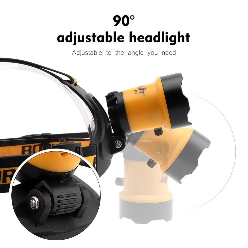 Boruit B16 Headlamp Adjustable Headlight