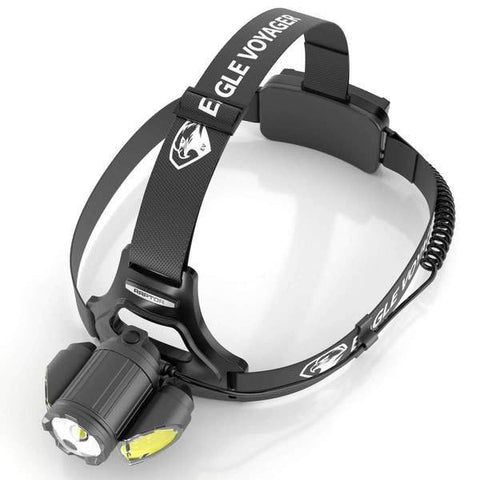 Image of RAPTOR™ Rechargeable Tactical LED Headlamp with NearVIEW Technology - 3 PACK