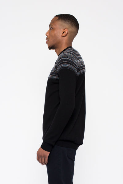 Black Into The Abyss Jumper