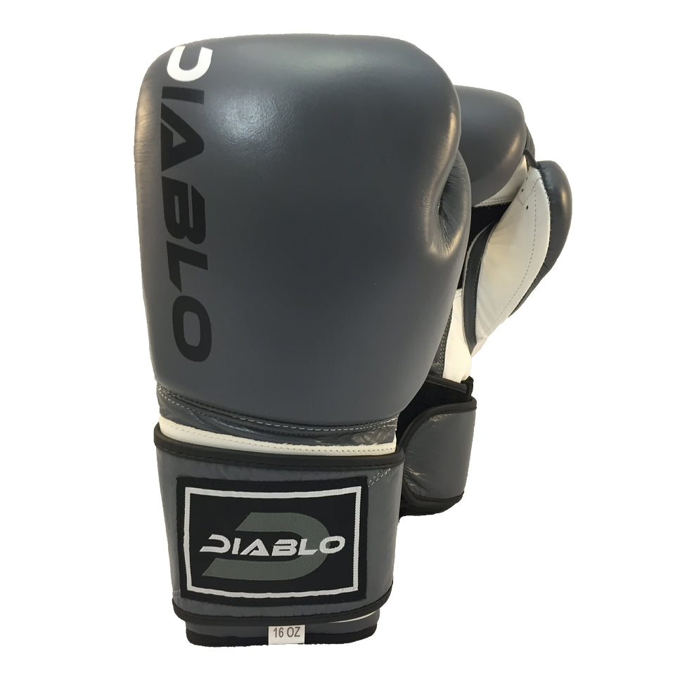 0188ea51c5 DB1 Battle Grey Leather Boxing Glove