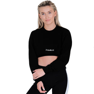 489a7026d6 Cropped Studio Sweat (Black) – Diablo Active