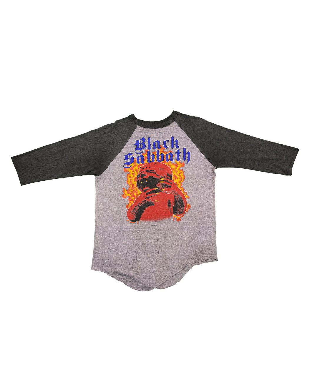 Black Sabbath Born Again 1984 Raglan