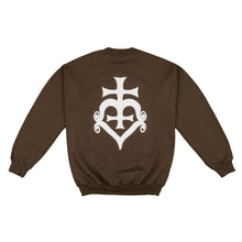Load image into Gallery viewer, Human Dior Logo Sweatshirt (Brown)