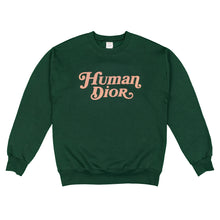 Load image into Gallery viewer, Human Dior Logo Sweatshirt (Green)