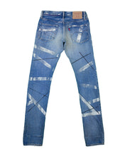Load image into Gallery viewer, Hysteric Glamour paint striped jeans