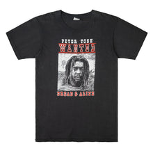 Load image into Gallery viewer, Peter Tosh WANTED 1981 Tour T-Shirt