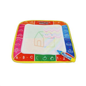 Aqua Doodle Mat Children Water Drawing Pad and Magic Pen Kids Educational Toy 26x16.5cm