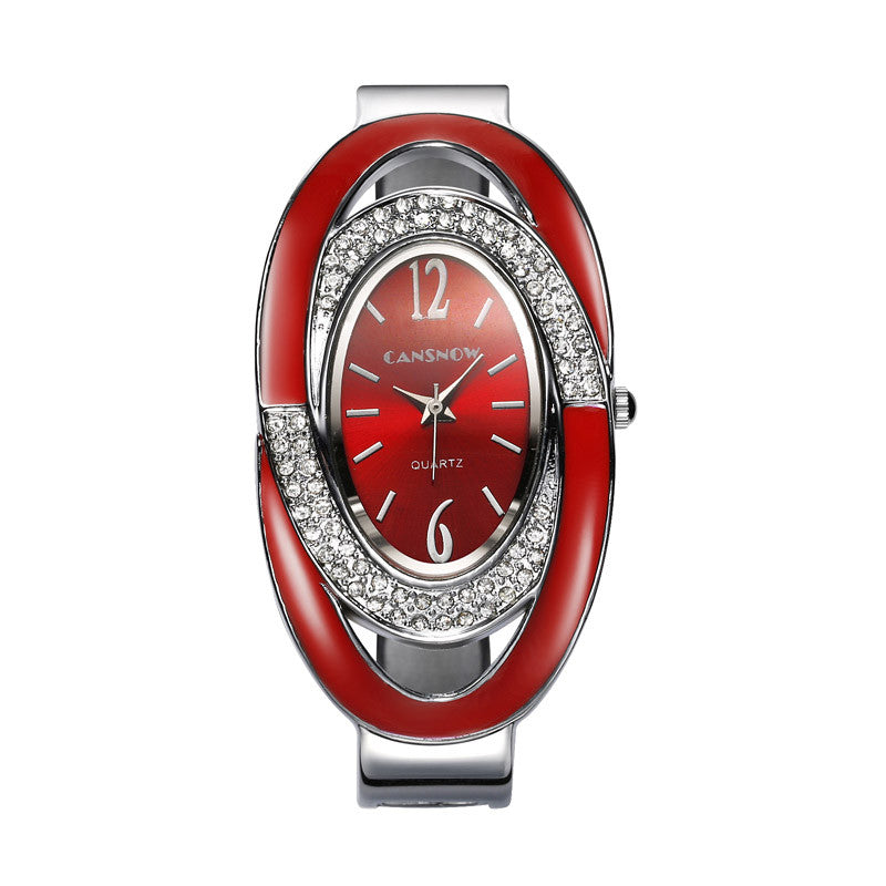 Luxury Rhinestone Bracelet Watch Full Steel Watch Women's Watches