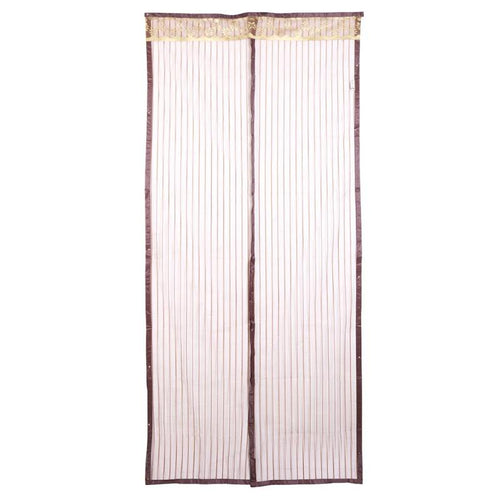 Magnetic Curtains Fly Mosquito Proof Window Net Mesh Screen Door Curtain  Magnets Screen Door Curtain Home Decor
