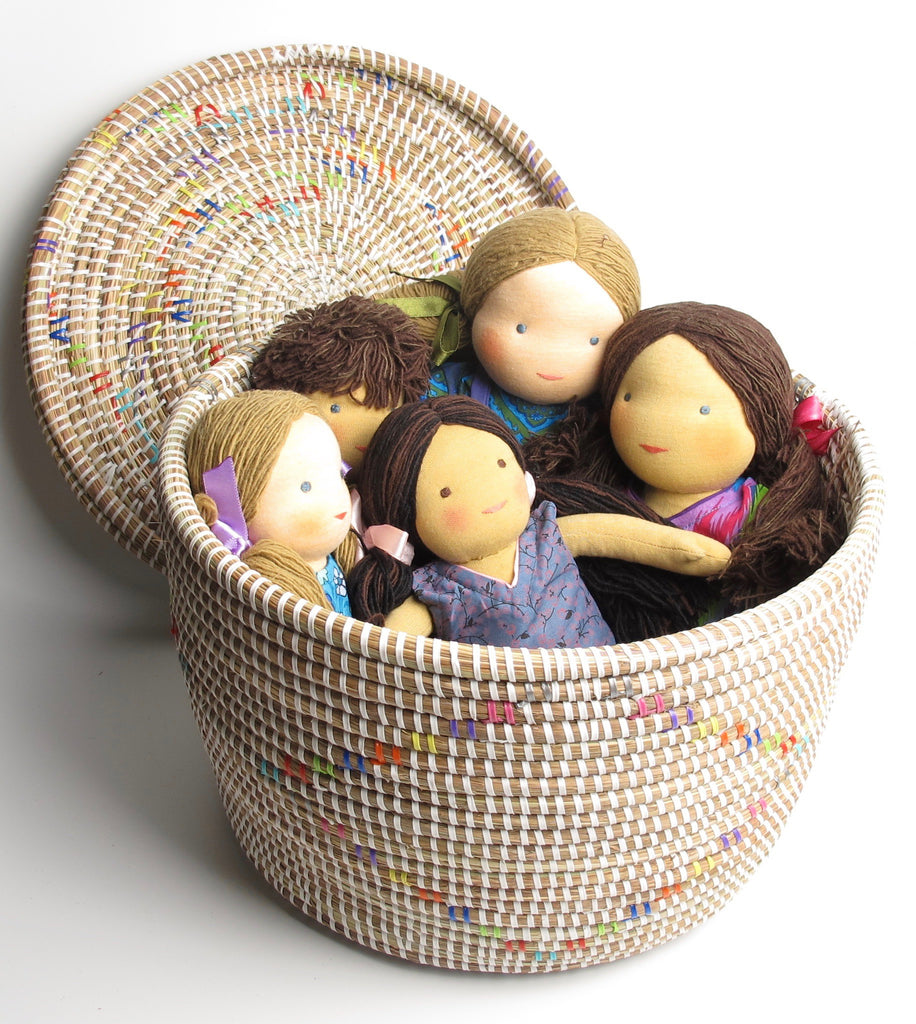 Natural Baby toys, Wooden toys, Waldorf-inspired dolls and play silks