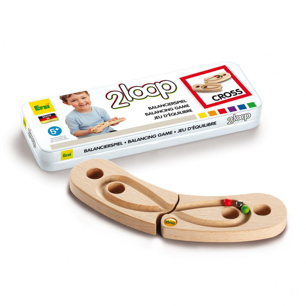 Erzi 2Loop balancing game - cross
