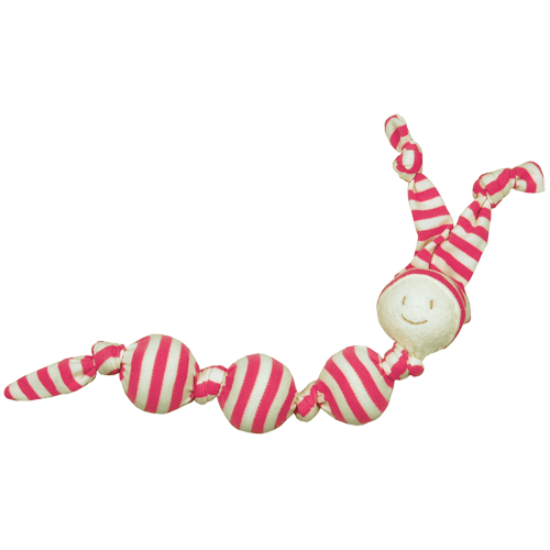 Keptin-Jr Toddel Sneeky rattle red