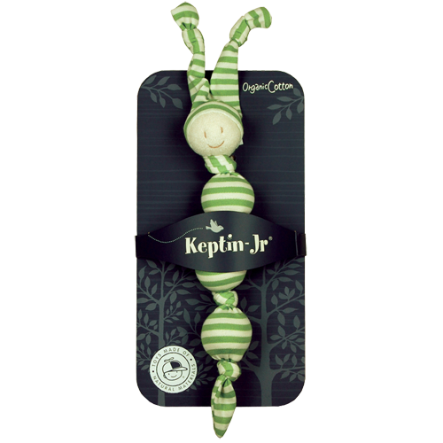Keptin-Jr Toddel Sneeky rattle green