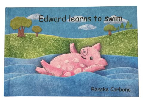 Edward learns to swim by Renske Carbone