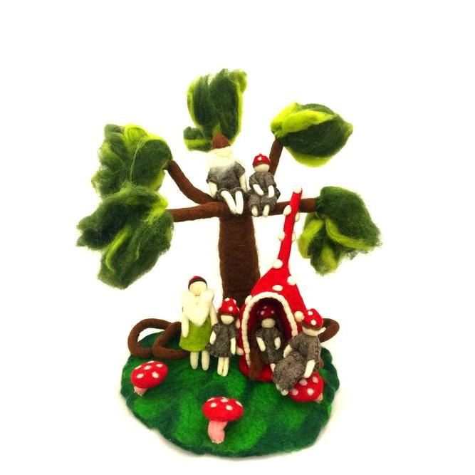 Himalayan Journey Gnome family tree set