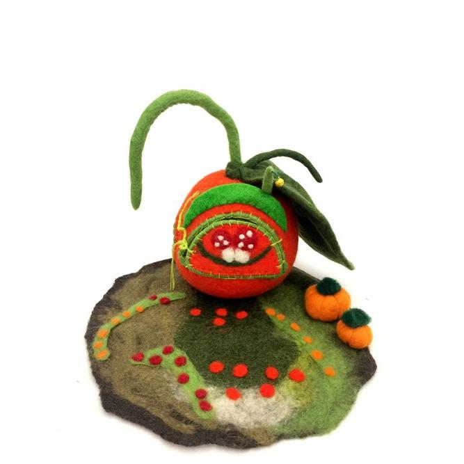 Himalayan Journey faery pumpkin home large