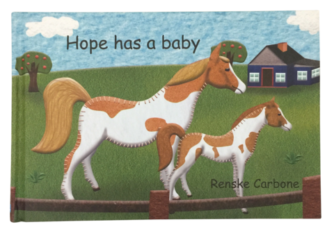 Hope has a baby by Renske Carbone