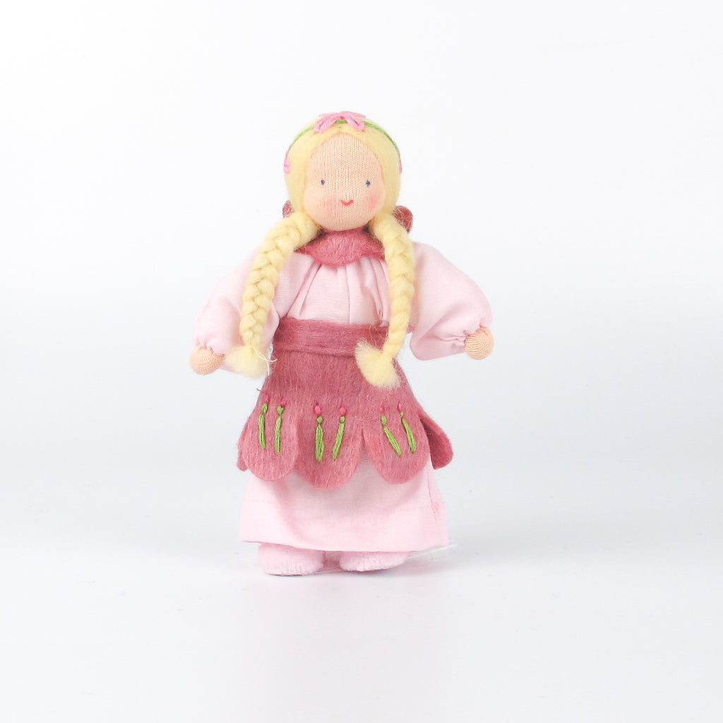 Evi doll - Flower girl Pink