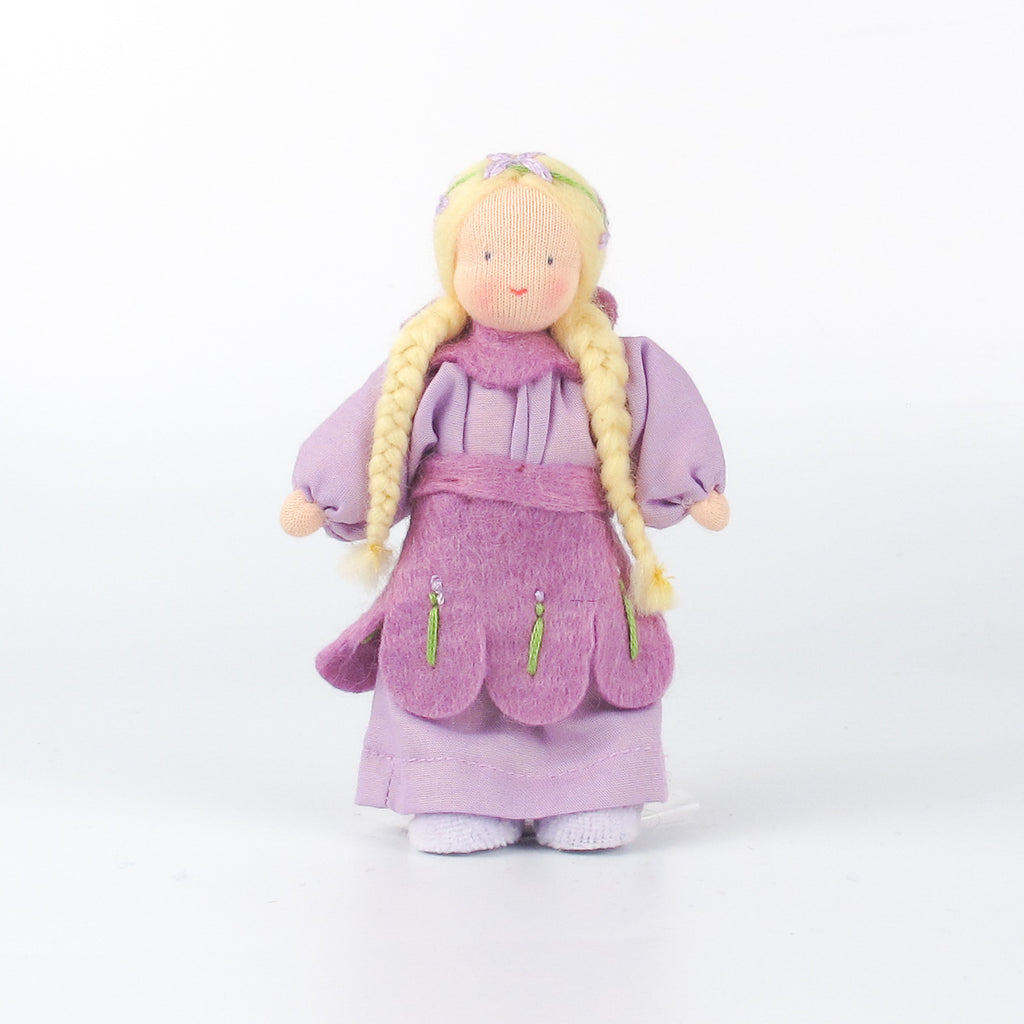 Evi doll - Flower girl Lavender