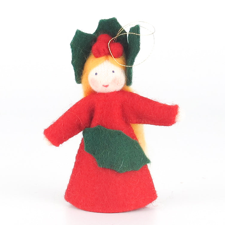 Christmas Flower Fairy - Holly Stechpalme