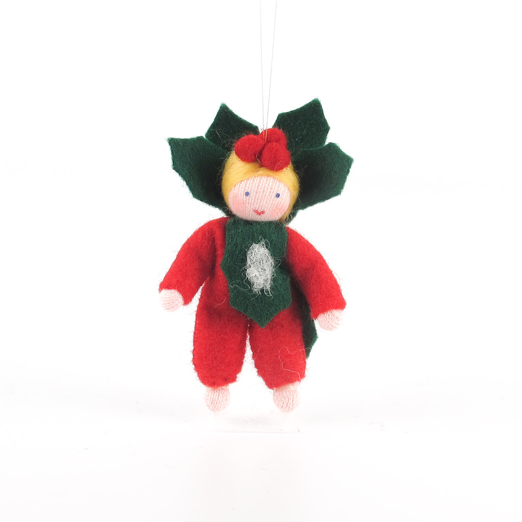 Christmas Flower Fairy - Holly baby