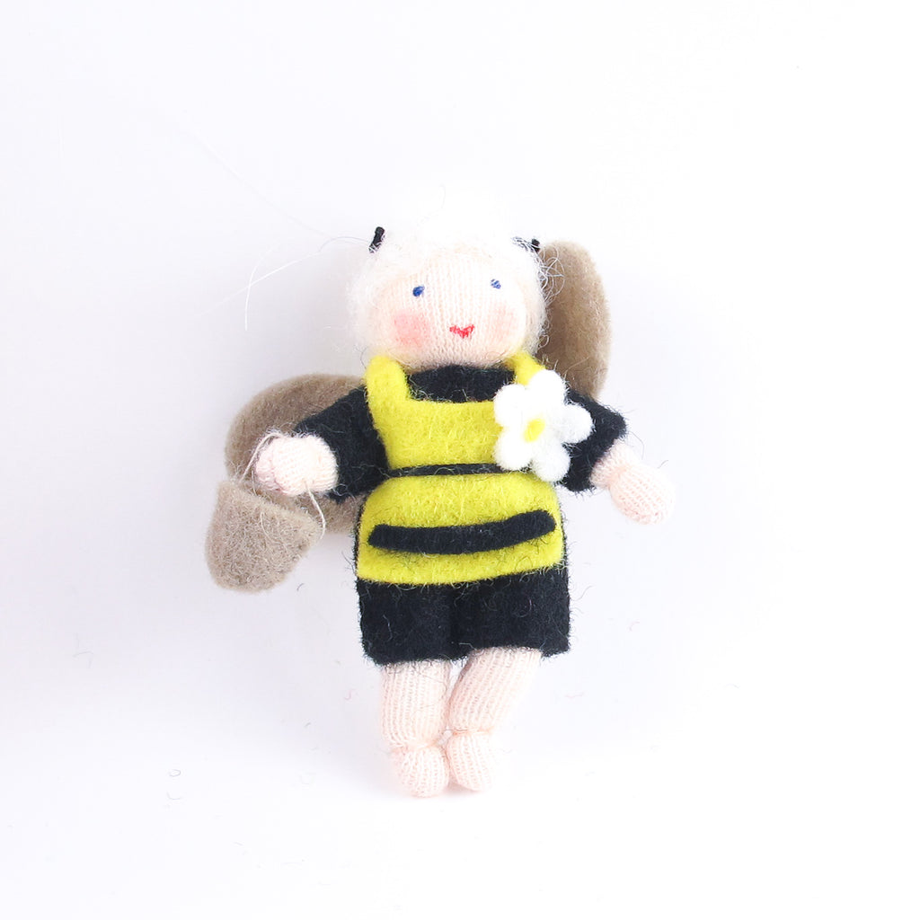 Flower Fairy - Black bee