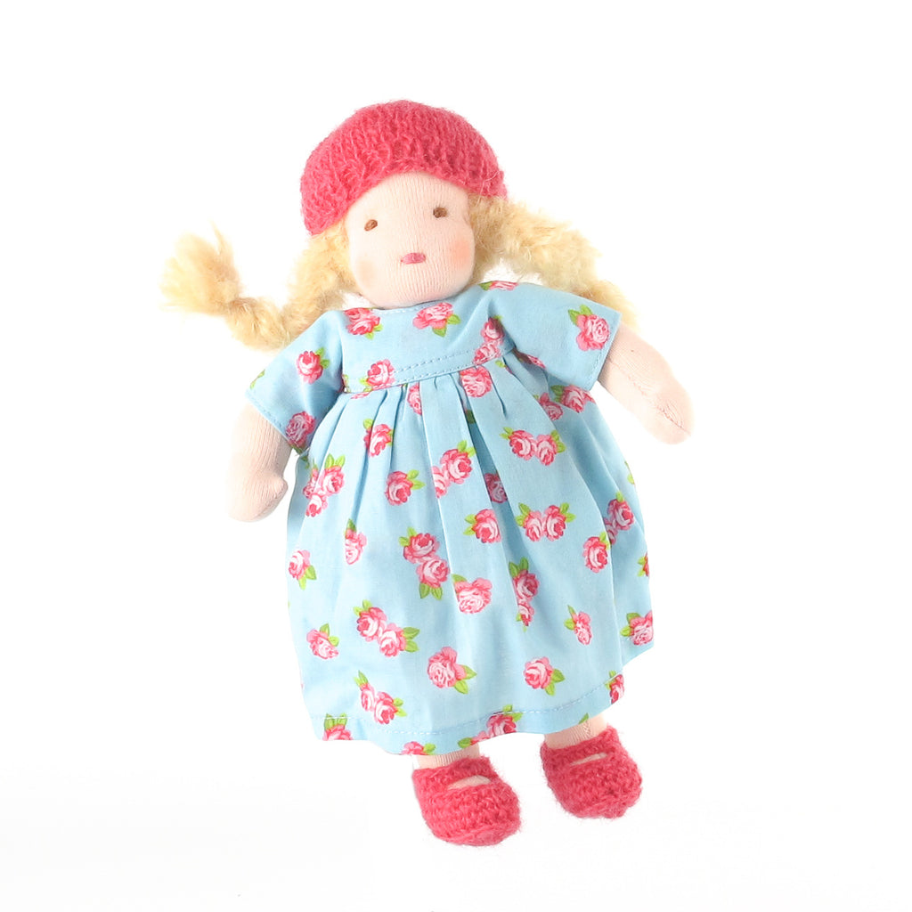 Ambrosius Waldorf doll girl - blonde hair