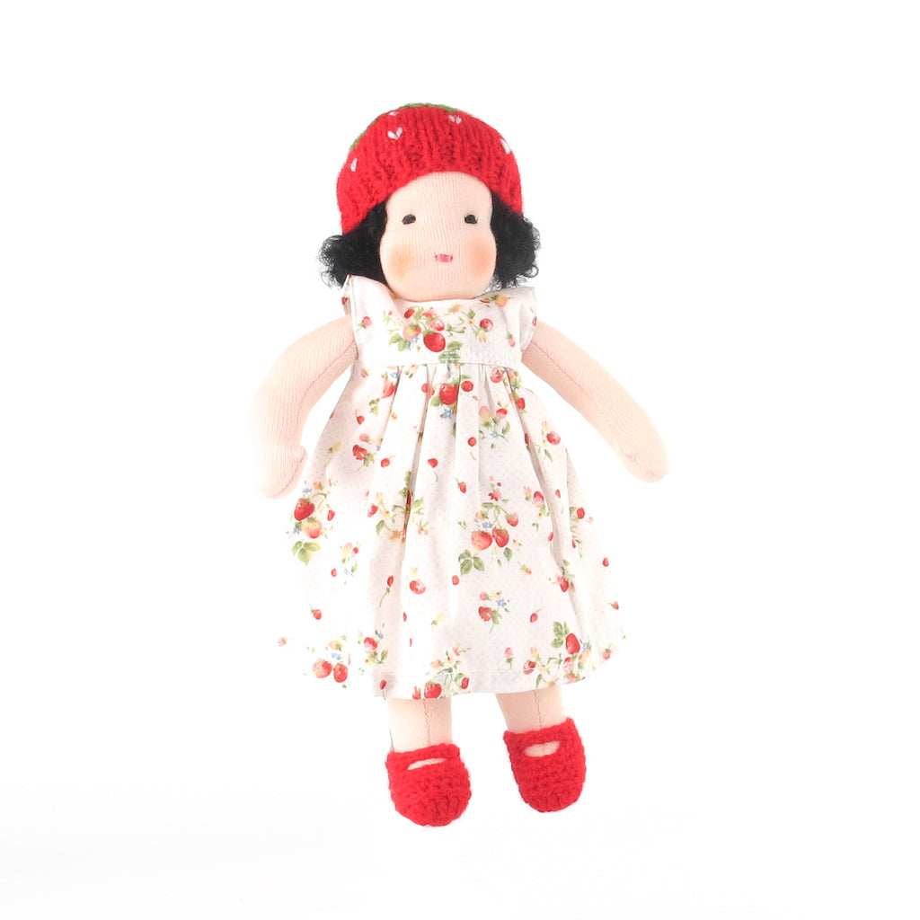 Ambrosius Waldorf doll girl - black hair