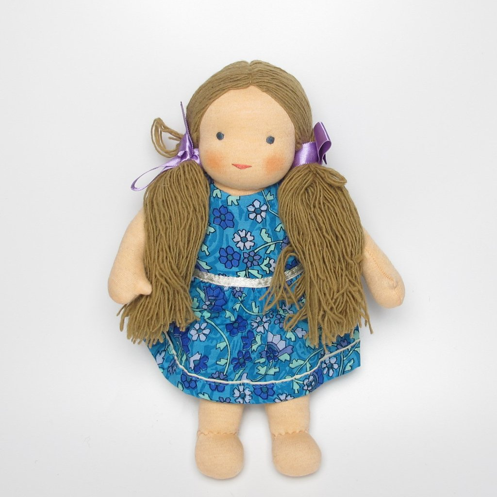 Tibetian Waldorf Doll Lisa - small