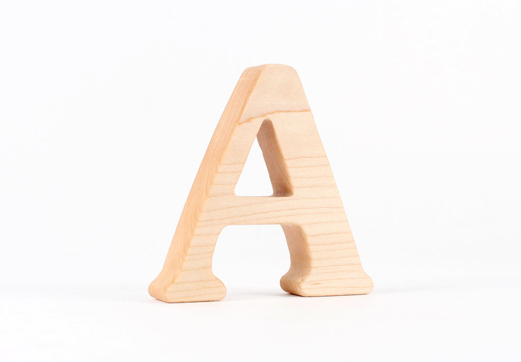 "Letter ""A"" Teether"