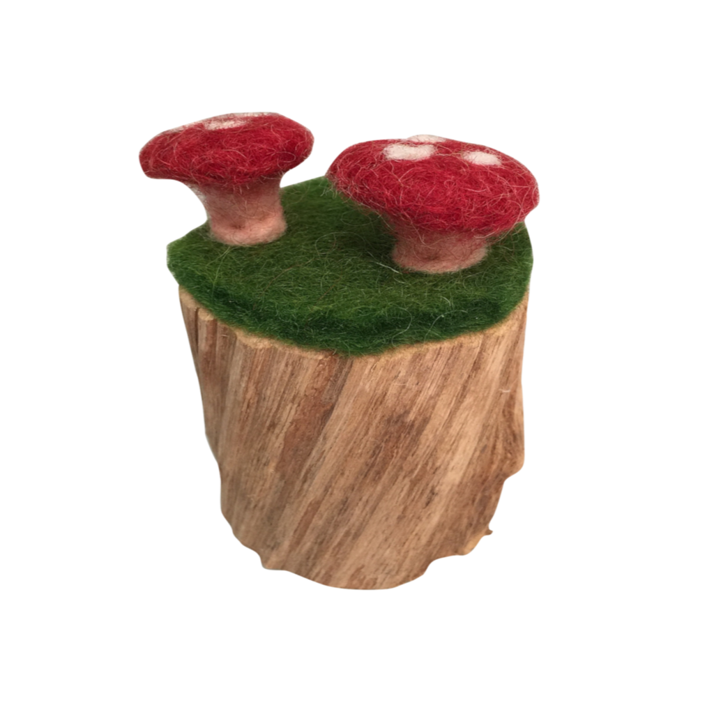 PapooseToys Toadstool Tree Trunk