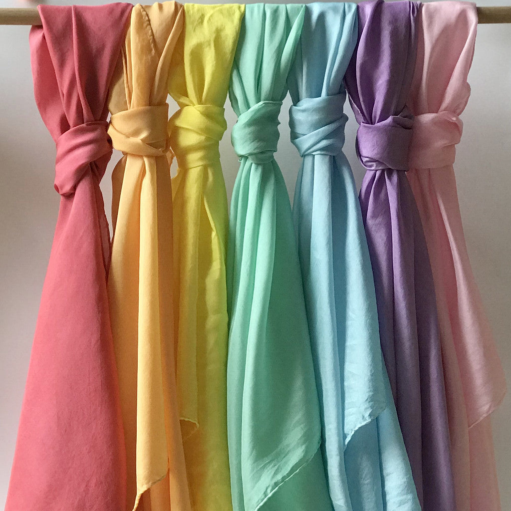 Play Silks - 6piece of Rainbow set